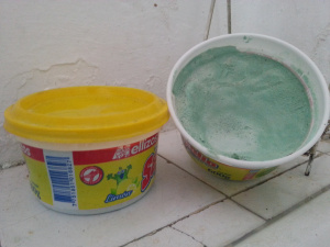 washing up 'liquid'