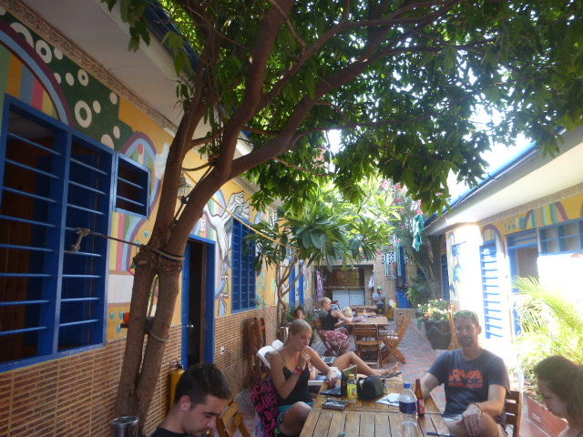 hostel tips and how not to behave in a hostel - Cartagena